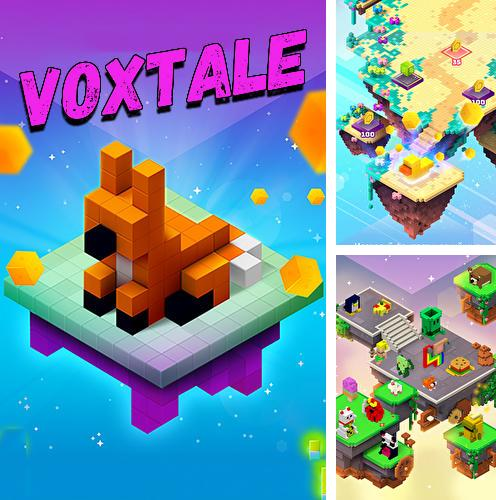 In addition to the game Monster trucks X: Mega bus race for Android phones and tablets, you can also download Voxtale for free.