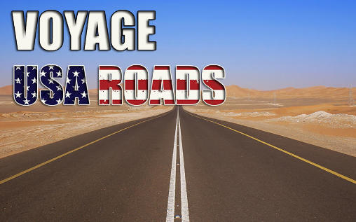 Voyage: USA roads poster