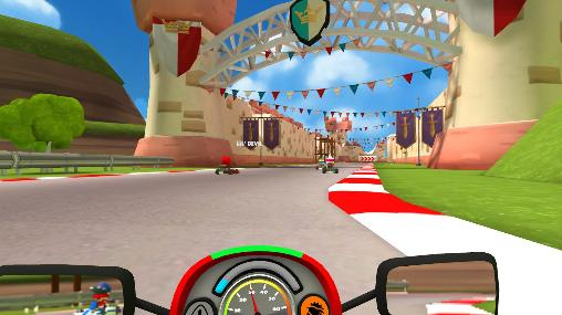 Screenshots von VR karts: Sprint für Android-Tablet, Smartphone.