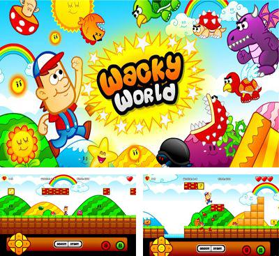 In addition to the game Super mega worm for Android phones and tablets, you can also download Wacky world for free.