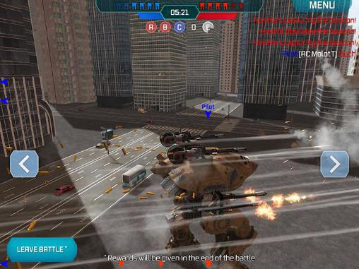 Screenshots von Walking war robots für Android-Tablet, Smartphone.