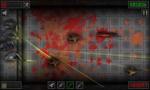 Screenshots of the Wall defense: Zombie mutants for Android tablet, phone.