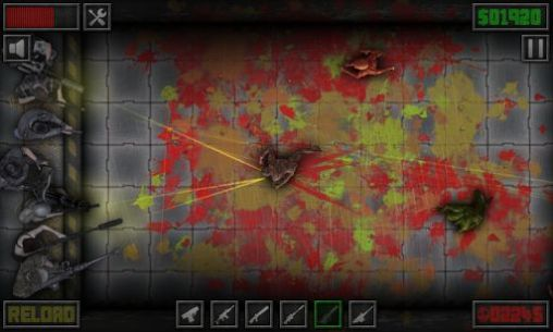 Screenshots von Wall defense: Zombie mutants für Android-Tablet, Smartphone.