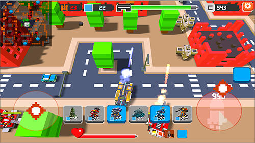 Гра War boxes: Tower defense на Android - повна версія.