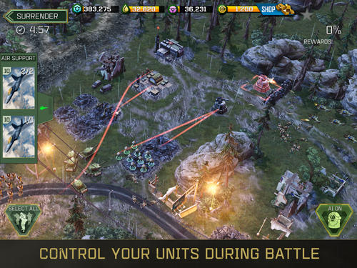 war commander app for android