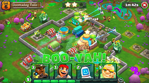 Screenshots von War goonz: Strategy war game für Android-Tablet, Smartphone.