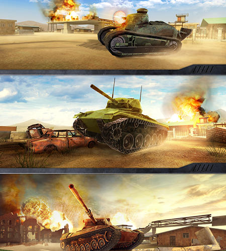 War machines: Tank shooter game screenshot 5