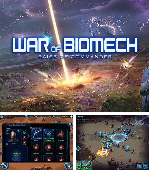 War of biomech: Raise of commander
