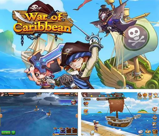 In addition to the game Girls of war for Android phones and tablets, you can also download War of Caribbean for free.