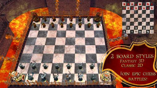 Screenshots von War of chess für Android-Tablet, Smartphone.