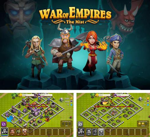 In addition to the game Pharaoh's war for Android phones and tablets, you can also download War of empires: The mist for free.