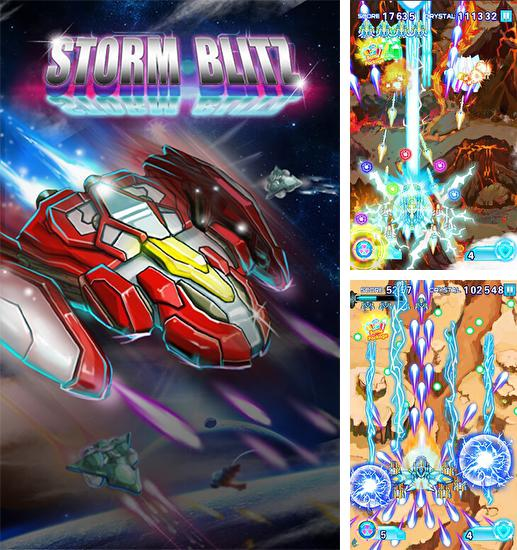 In addition to the game Sky fighter: War machine for Android phones and tablets, you can also download War of fighter: Storm blitz for free.