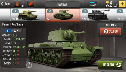 Download War of tanks: Online Android free game.