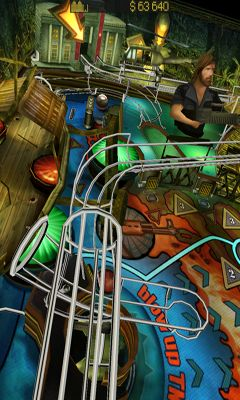 Screenshots of the War Pinball HD for Android tablet, phone.