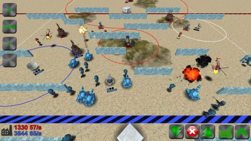 Screenshots von War! Showdown für Android-Tablet, Smartphone.