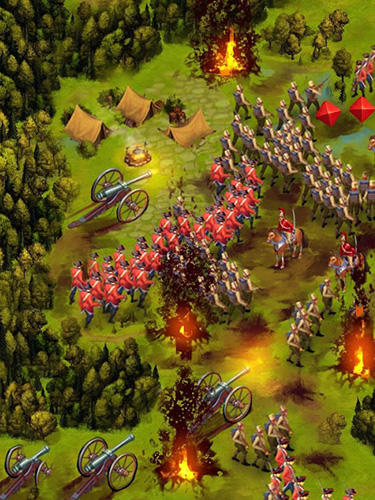 Screenshots do War spirit: Clan wars - Perigoso para tablet e celular Android.