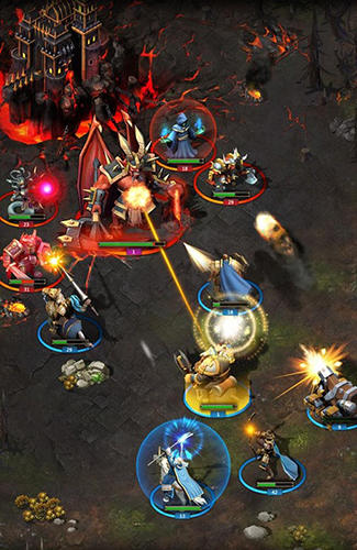 War storm: Clash of heroes screenshot 3