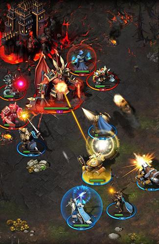 warstorm clash of heroes mod apk