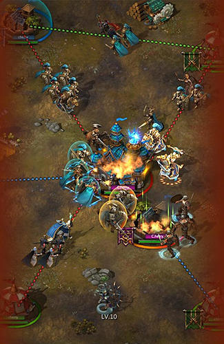 War storm: Clash of heroes screenshot 5