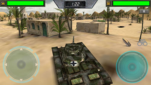 Screenshots do Tank fortress - Perigoso para tablet e celular Android.