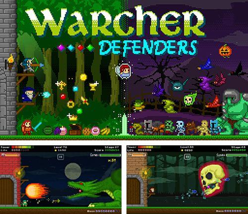 In addition to the game Tap 'n' slash for Android phones and tablets, you can also download Warcher defenders for free.