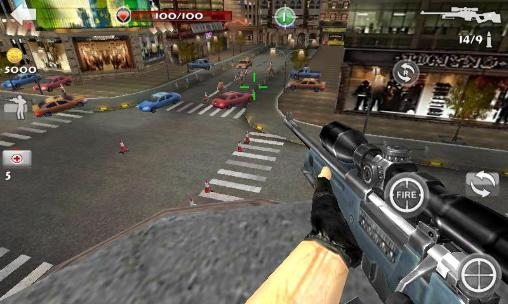 Warfare sniper 3D screenshot 1