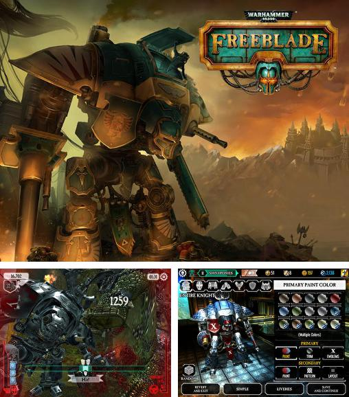 In addition to the game Shadow Snake HD for Android phones and tablets, you can also download Warhammer 40000: Freeblade for free.