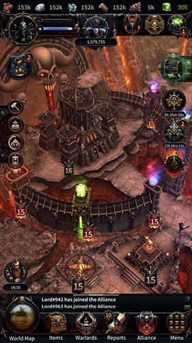 Capturas de pantalla de Warhammer: Chaos and conquest. Build your warband para tabletas y teléfonos Android.