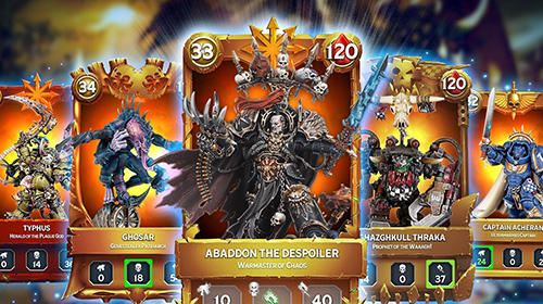 Screenshots von Warhammer combat cards für Android-Tablet, Smartphone.