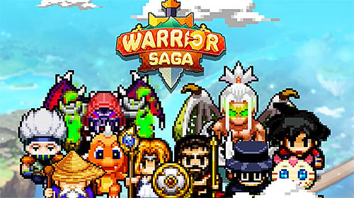 Warrior saga: No.1 free pixel MMORPG in 2018 poster