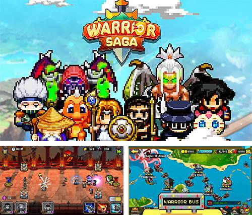 Warrior saga: No.1 free pixel MMORPG in 2018