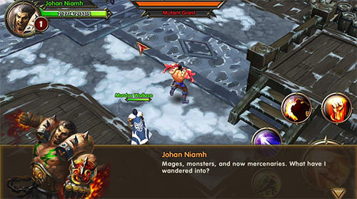 Screenshots von Warriors of glory für Android-Tablet, Smartphone.