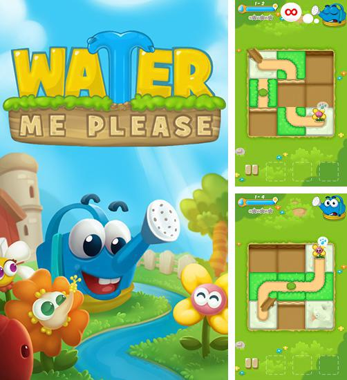 In addition to the game Tesla tubes for Android phones and tablets, you can also download Water me please! Brain teaser for free.