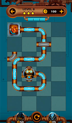 Jogue Water pipes: Plumber para Android. Jogo Water pipes: Plumber para download gratuito.