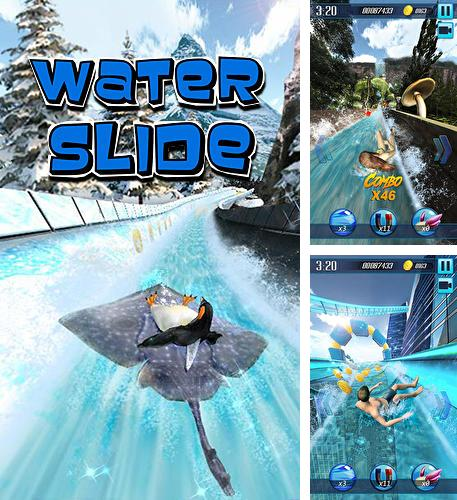 In addition to the game Juicy jelly barrel blast for Android phones and tablets, you can also download Water slide 3D for free.