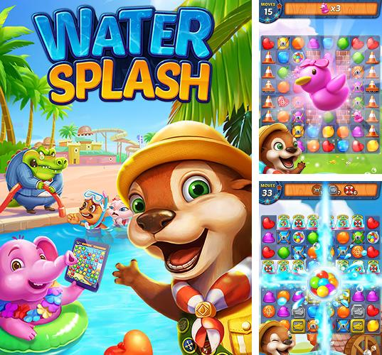 Water splash: Cool match 3
