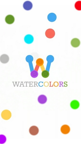 Watercolors poster