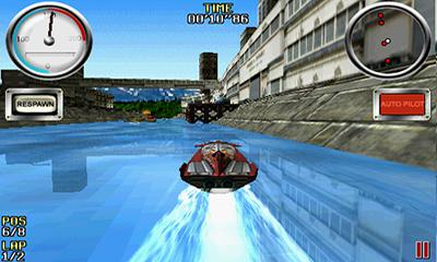 Screenshots of the Wave Blazer for Android tablet, phone.