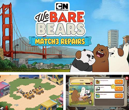 We bare bears: Match 3 repairs