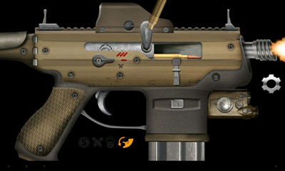Screenshots do Weaphones Firearms Simulator - Perigoso para tablet e celular Android.