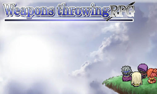 Weapons throwing RPG poster