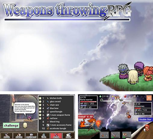 Weapons throwing RPG