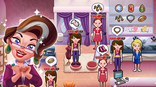 Screenshots von Wedding salon dash: Bridal shop simulator für Android-Tablet, Smartphone.
