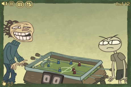 Capturas de pantalla de Weird football escape para tabletas y teléfonos Android.