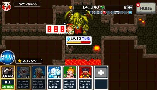 Screenshots von Welcome to the dungeon für Android-Tablet, Smartphone.