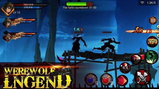 Werewolf legend screenshot 1