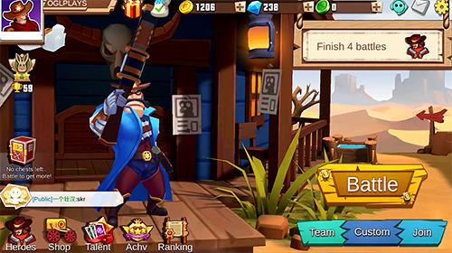 West legends: 3V3 moba screenshot 1