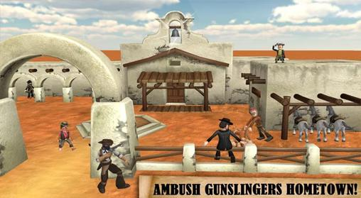Screenshots von Western: Cowboy gang. Bounty hunter für Android-Tablet, Smartphone.