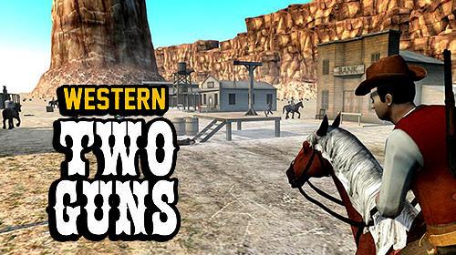 Resultado de imagem para Western Two Guns
