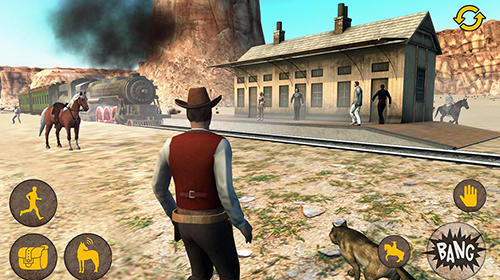 Screenshots von Western two guns für Android-Tablet, Smartphone.